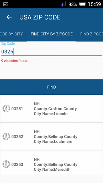 [Free][App]USA Zip code on your Mobile 2.0-screenshot_2016-08-28-15-59-48.png