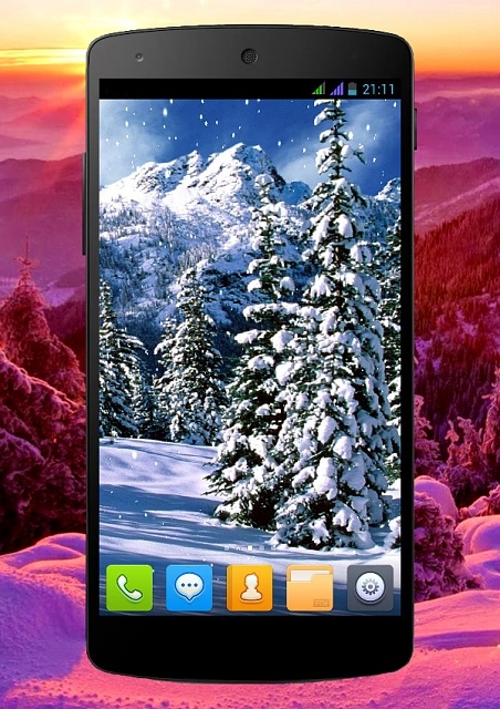 [FREE][4.0+] Winter Live Wallpaper-phone_6.jpg