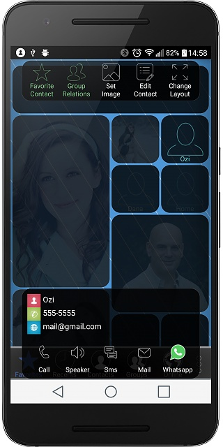 Dialer++ - a new dialer app with your friends and family photo collage...-device-2016-10-12-145847.jpg