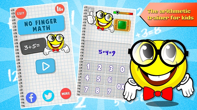 No Fingers Math - arithmetic trainer for kids-ss_1.jpg
