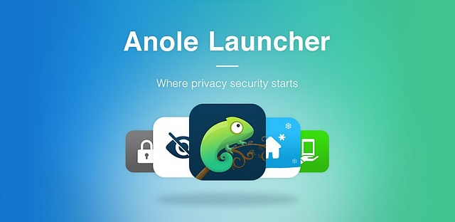 Hide apps and protect privacy with Anole Launcher!-home.jpg