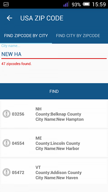 [Free][App]USA Zip code on your Mobile-screenshot_2016-08-28-15-59-07.png