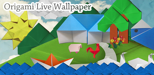 [Free][Android] Origami Live Wallpaper-1024x500_free.png