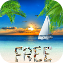 [FREE] Summer Live Wallpaper-ic_launcher_sm_free_128.png