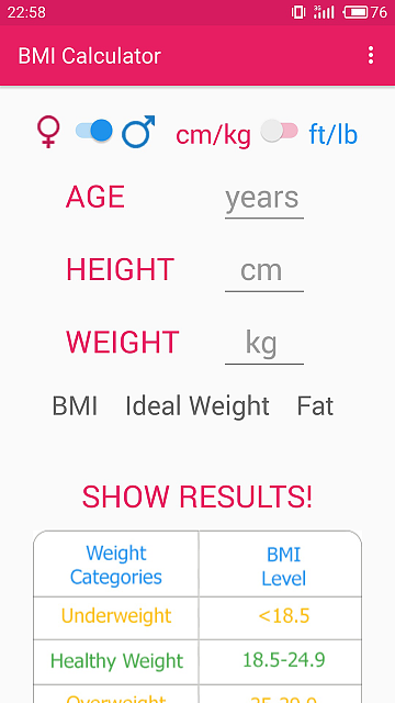 {FREE APP} BMI Calculator-01screenshot1.png