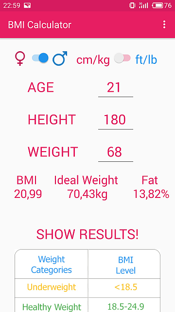 {FREE APP} BMI Calculator-02screenshot2.png