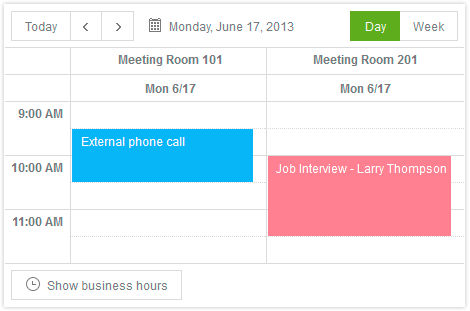 What calendar app is best for displaying multiple schedules side-by-side?-scheduler-grouping.png