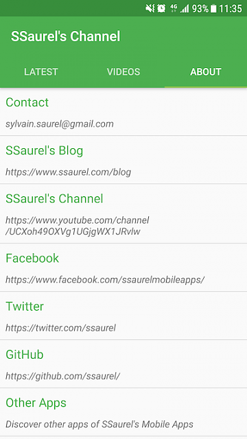 [App] [4.0+] Learn to make Android Apps with the SSaurel's Channel Official App-about_en.png