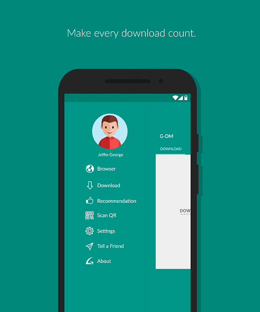 G-Download Manager futuristic download manager for Android-1.png
