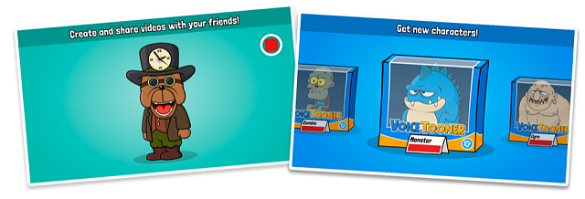 [FREE PROMO CODES] VoiceTooner: voice changer with cartoons-pr-screenshots2.png