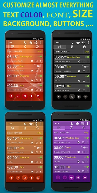 [ANDROID][APP] [FREE] Alarm Clock Millenium Free - Highly customizable +500.000 downloads-en-5.jpg