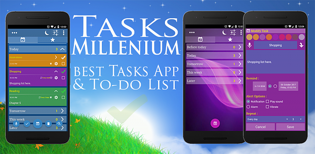 [APP][2.3+][FREE] NEW Tasks To-Do List App by Millenium Apps 1.0-featuring.png