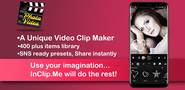 [App][6.0+][InClip.Me Photo Video Clip Maker]500 Promo Codes-playstore-banner.jpg