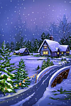 <Free> MyScreen Live 3D Wallpaper [Personalization]-xmas-night.png
