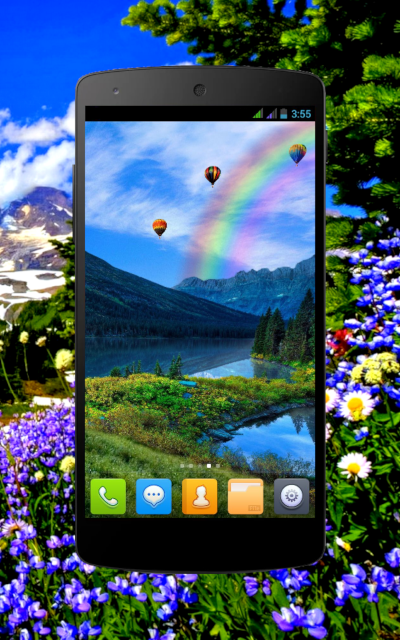 [FREE] Mountain Spring Live Wallpaper-ms_phone_6.png