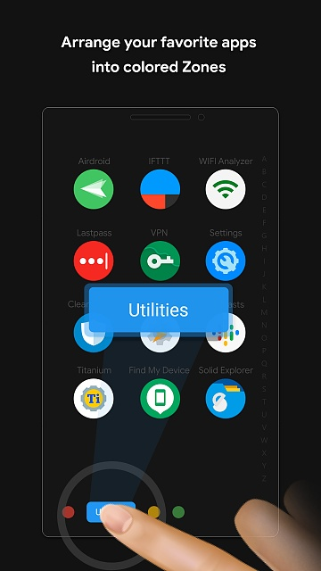 [APP] Zone Launcher - A One Swipe Edge Launcher & Drawer-android-mobile-2.jpg