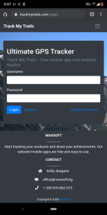 [APP][FREE][5.0+] Track My Trails - Get the most out of your runs, hikes or walks-t7.png