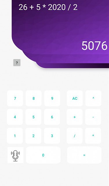 [Free App] Simple Application: Calculator with command voice.-new.jpg