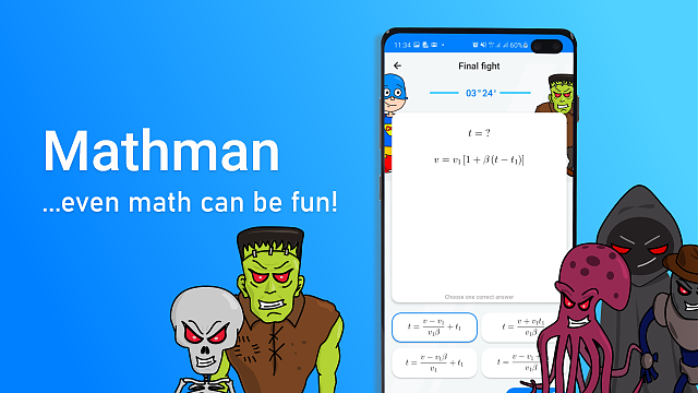 Mathman - learn math and fight math monsters-ad-wide.png