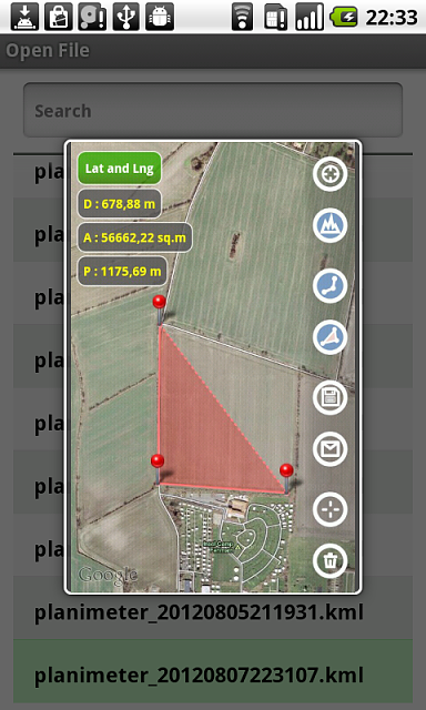 [PAID APP][POST FROM DEVELOPER] Planimeter - area measure. All kinds of measurements on Google Maps.-planimeter_screenshot38.png