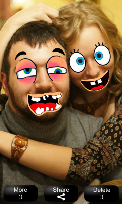 [FREE][APP] MakeMeSmile Camera application-result_view_vertical_scr2_h400.png