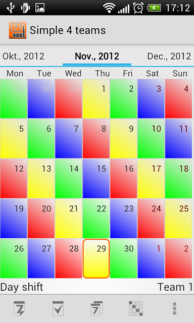 APP] Shift Schedule Android app - Android Forums at AndroidCentral.com