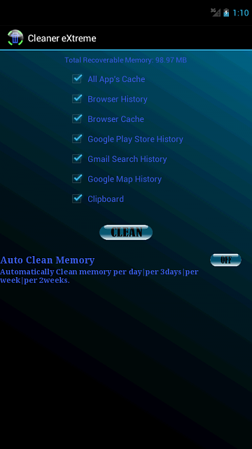 [FREE APP] Cleaner eXtreme: Recover memory, Clean Cache+History+Temp Files in 1 Click-device-2013-01-24-011054.png