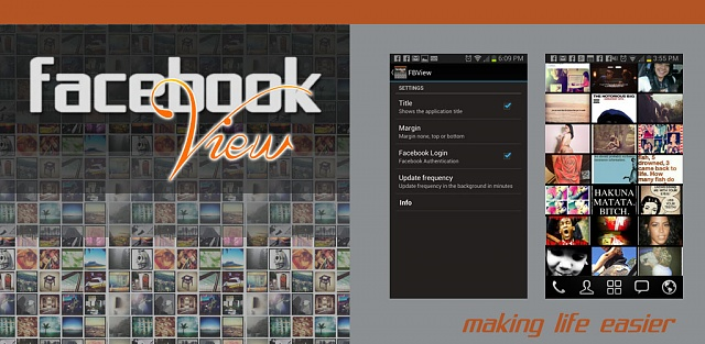 [app] [free]FacebookView 4 facebook, updated friend images from your news feed into a live wallpaper-main.jpg