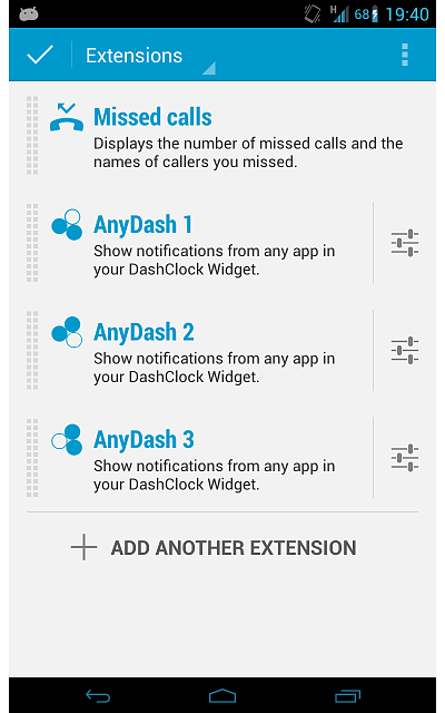 AnyDash - Show notifications from any app in your DashClock Widget-extensions-pro.png