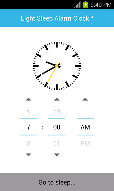 [FREE][APP] Light Sleep Alarm Clock 1.0.0-1.png