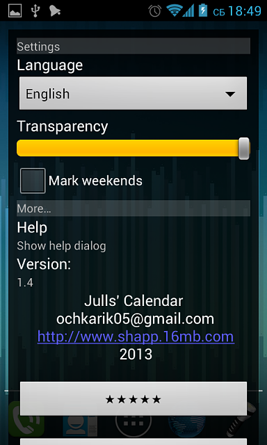 [WIDGET APP][2.3] Julls' Calendar (Developer Post)-screenshot_2013-01-26-18-49-31.png