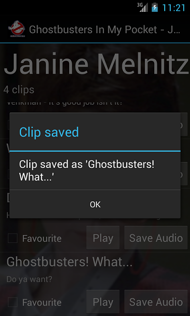 """[APP] - """"In My Pocket"""" Soundboards for Ghostbusters, The Crow, Flash Gordon, Monty Python-apss6.png"""