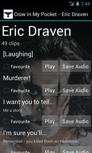 "[APP] - ""In My Pocket"" Soundboards for Ghostbusters, The Crow, Flash Gordon, Monty Python-android_phone_ss2.png"