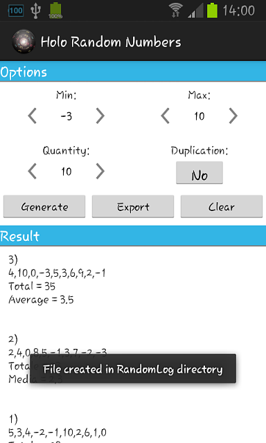 Holo Random Numbers, with samsung multiwindows, optimized for phone and tablets!-screenshot_2013-06-29-14-00-10.png