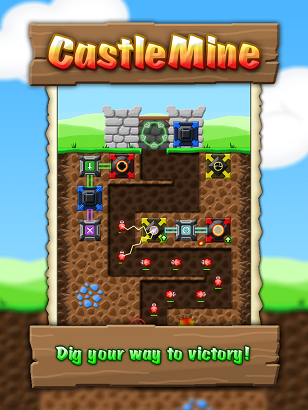 CastleMine - Now on Google Play! [Free with no IAP]-castlemine_promo_001.png