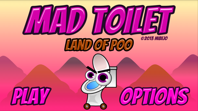 [GAME FREE] Mad Toilet : Land of Poo-menuscreen.png
