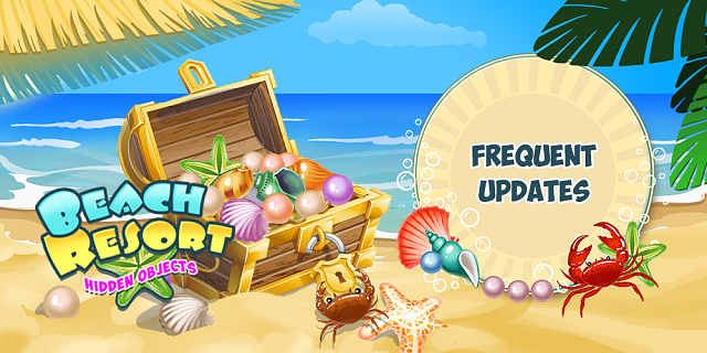 [FREE] Beach Resort -hidden objects-6banner_frequent-updates.png