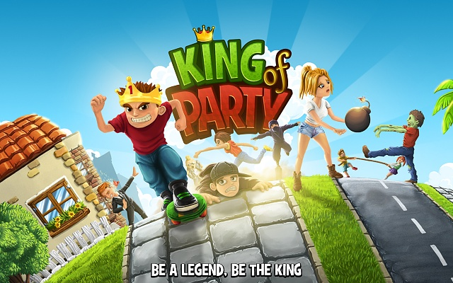 [FREE GAME] King of Party, real time multiplayer game, like Mario Party-img_1.jpg