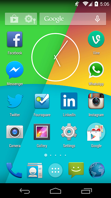 KitKat Launcher with Transparent Statusbar for all Android 4.0.3-4.4 Devices-kitkat_launcher_ss1.png