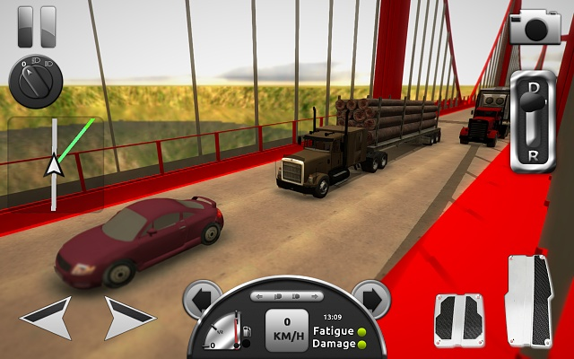 [FREE][GAME] Truck Simulator 3D - the only truck simulator on mobile!-screen2.jpg