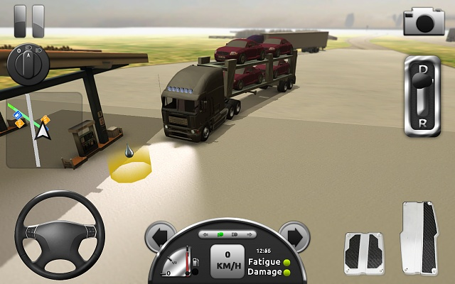 Free game truck simulator 3d the only truck simulator for Simulatore 3d
