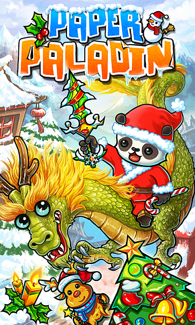 "[Game Free]Merry Christmas!![Paper Paladin]Totally New ""Cutting-Bounce"" game play!  2D Real-time PVP-pic_1.png"