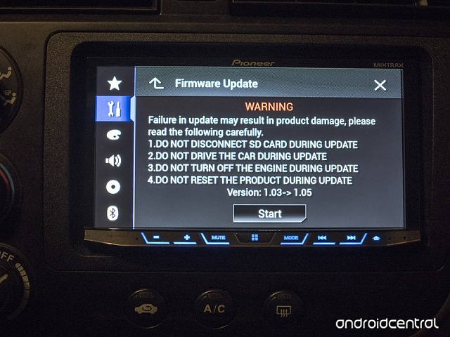 new pioneer firmware update android forums at. Black Bedroom Furniture Sets. Home Design Ideas