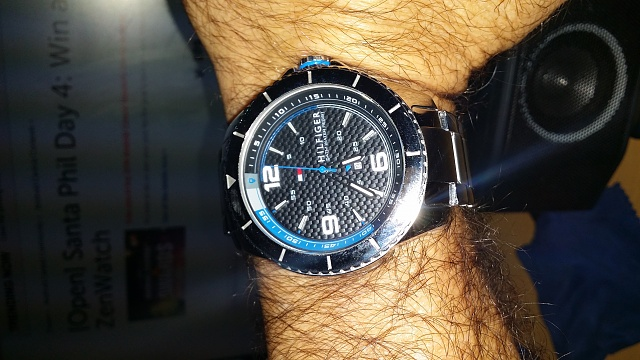 Santa Phil Day 4: Win a (as in 1) ASUS ZenWatch-my-watch.jpg