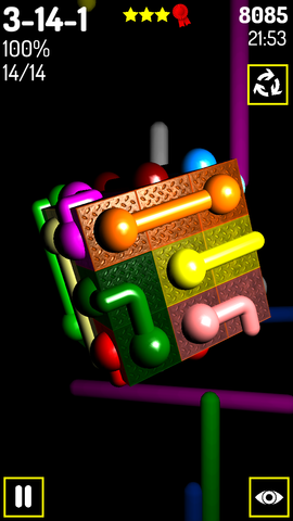 [FREE][2.3+] Pipes 3D - cube puzzle game-screenshot_2014_02_08_21_53_03.png