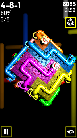 [FREE][2.3+] Pipes 3D - cube puzzle game-screenshot_2014_02_08_21_59_59.png