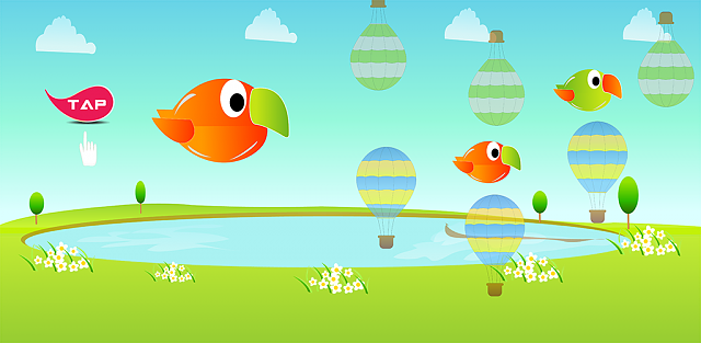 [Game][Free] Flappy Ballon - Better than Flappy Bird-sillybird_promote_1024_2.png