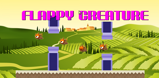 [FREE] Flappy Creature cross though pipes from right to left in a Flappy Bird clone-promotional.png