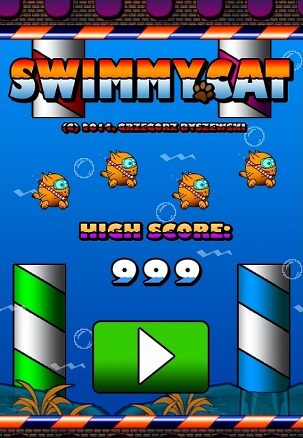 [FREE][2.2+] Swimmy Cat - Most Frustrating Android Game-screen01.jpg