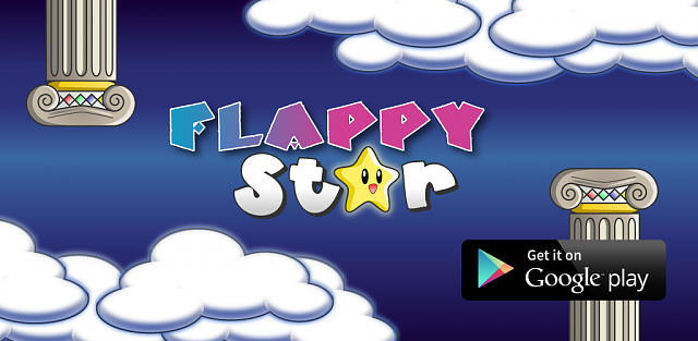 Flappy Star - Probably the best Flappy Bird clone in the market, with better gameplay and graphics!-promo_1024x500.png